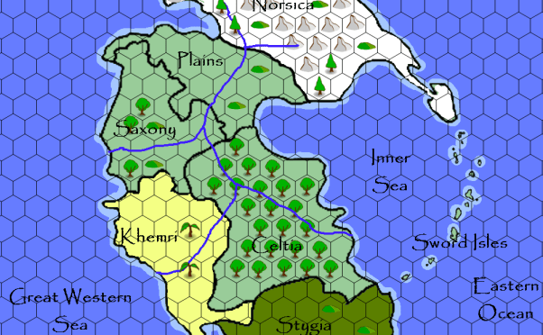 Serpents Fall (Fate Fantasy Campaign) – Updated map