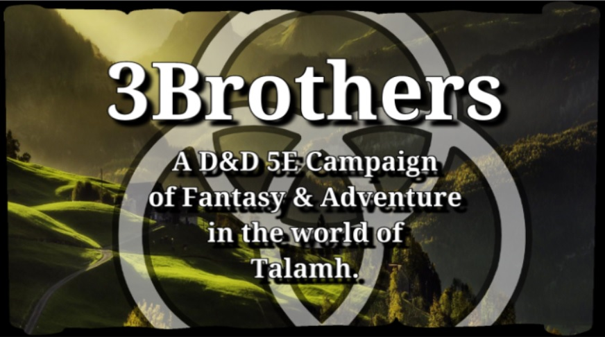 3Brothers Campaign Intro Trailer