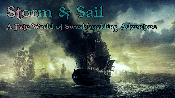 Storm & Sail: Amended scale rules