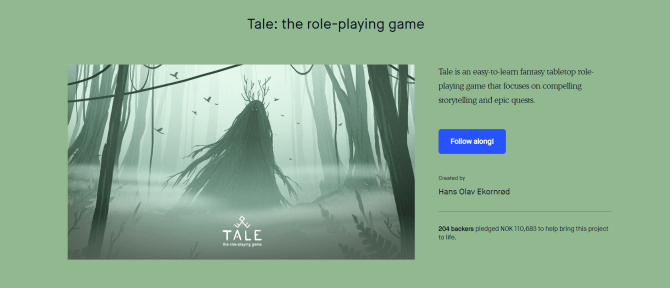 RPG Review: Tale the Roleplaying Game