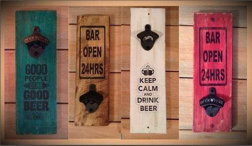 Wall Beer Bottle Openers at Woody's