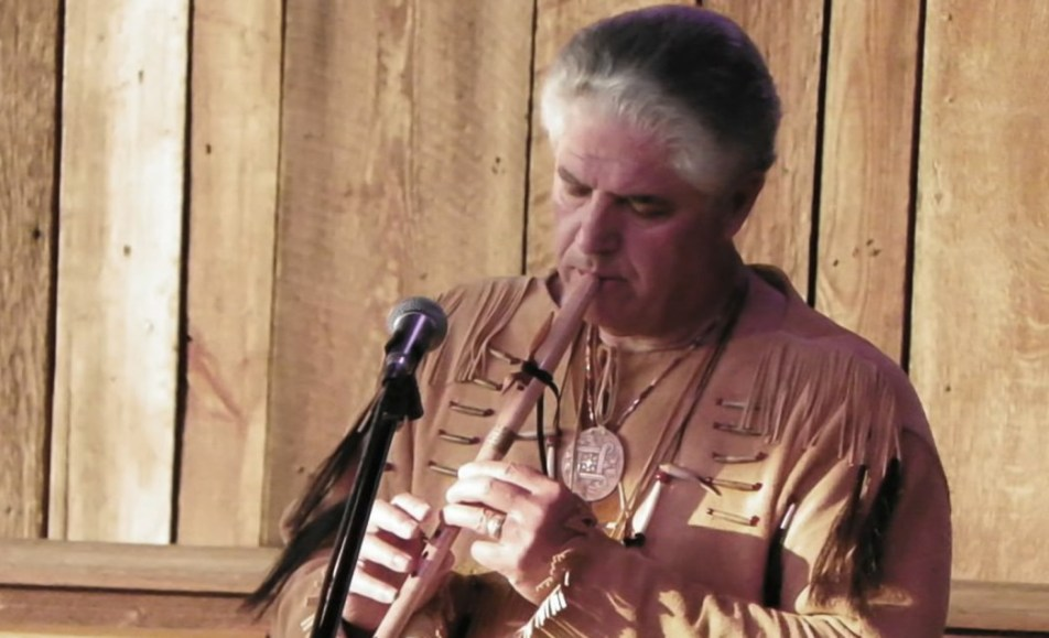 Native American Flutist Randy McGinnis