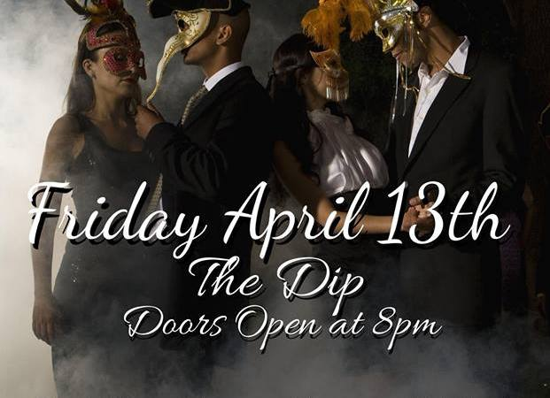 Friday the 13th Masquerade Ball poster