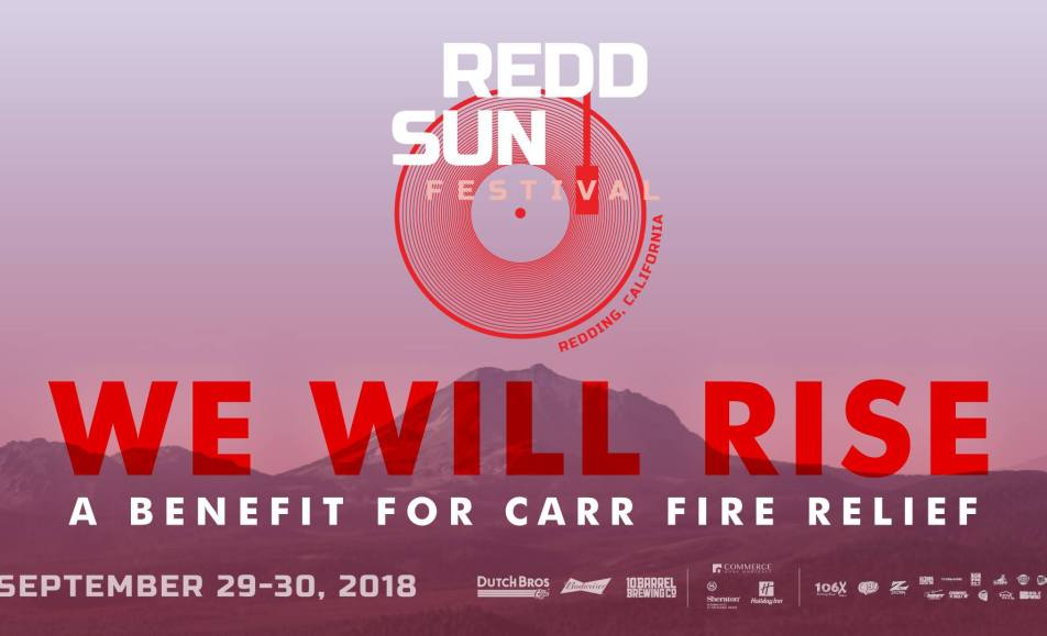 Redd Sun Festival – a Benefit for Carr Fire Relief