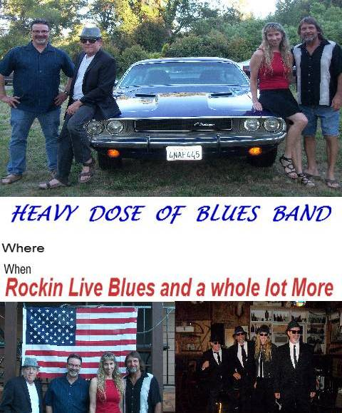 Heavy Dose of Blues 13th Reunion and Holiday Party