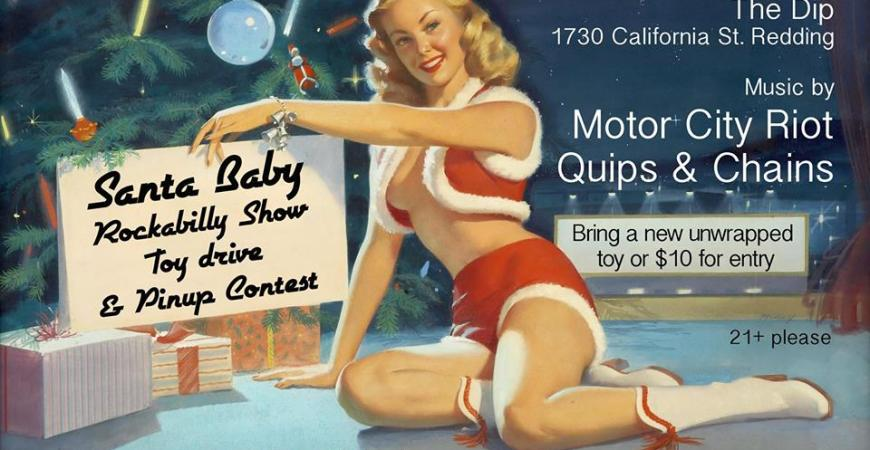 Santa Baby Rockabilly Show, Toy Drive and Pinup Contest