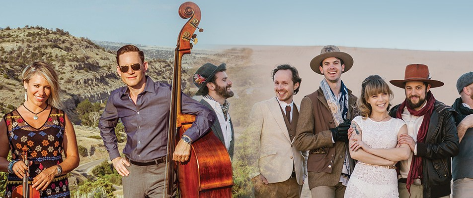 ACROSS THE GREAT DIVIDE: DUSTBOWL REVIVAL & HOT CLUB OF COWTOWN