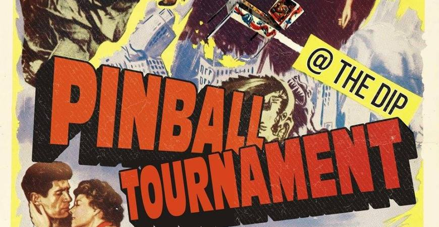 Monthly Pinball Tournament poster