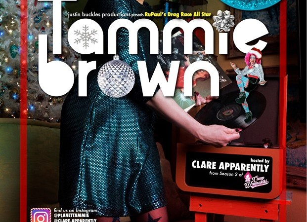 Tammie Brown Holiday Sparkle Tour poster