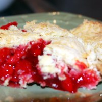 How to make a divine fresh cherry pie