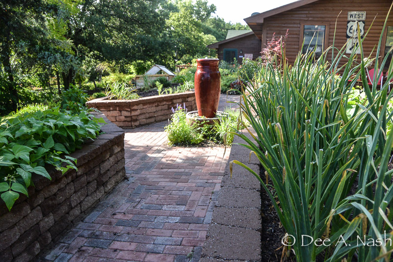 What does your garden say about you? The potager in June still shows its structure.