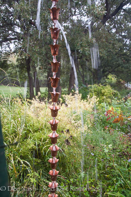 Rain Chains Are Jewelry For Your Gutters Red Dirt Ramblings 174