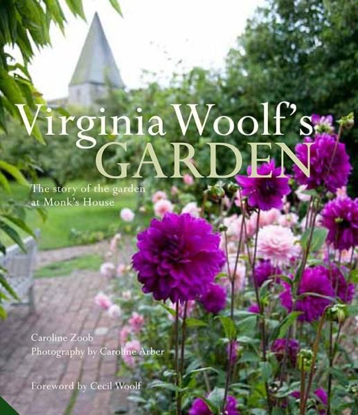 Cover of Virginia Woolf's garden. Gifts for Gardeners