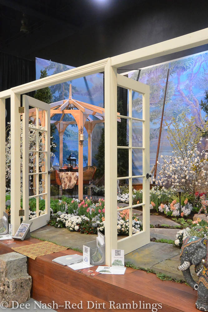"""A Room with a """"Garden"""" View, by English Landscapes Group. Northwest Flower & Garden Show--Dee Nash"""