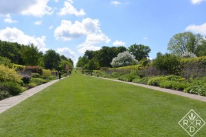 Wisley Garden is immense. These long borders are pretty amazing.