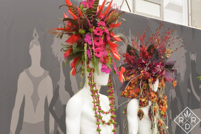 Floral headdresses