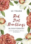 10th Blogaversary for Red Dirt Ramblings blog by Dee Nash