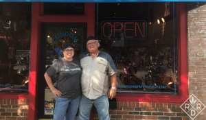 Bill and Dee at Bikes, Blues and BBQ in Fayetteville,