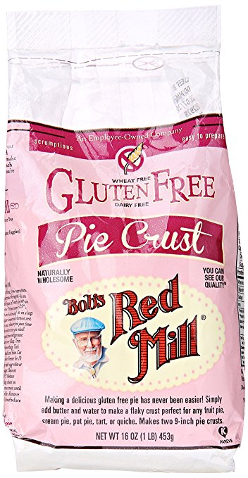 Bob's Red Mill gluten free pie crust mix.