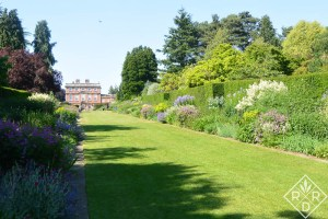 Newby Hall's fantastic long herbaceous borders.