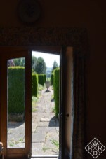 That fabulous urn and the walk from inside the house. Pamela's home was as beautiful inside as it was out.
