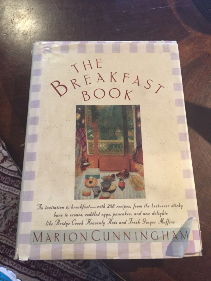 The Breakfast Book, by Marion Cunningham.