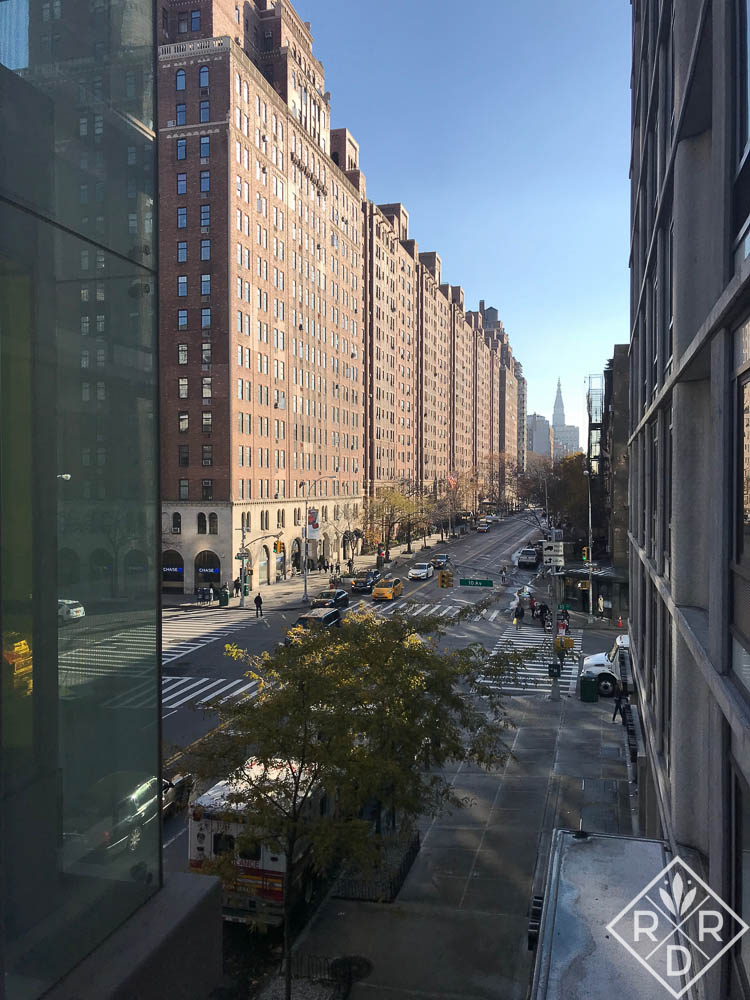 Great perspective shot from the High Line.