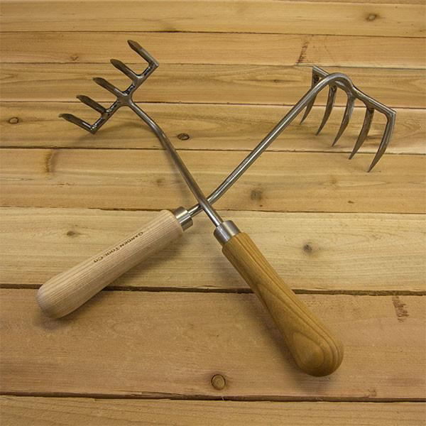 Five-tine Hand Garden Rake by Sneeboer. Photo courtesy of Garden Tool Company. This is my new favorite tool.