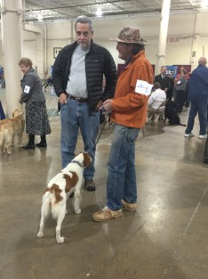 Columbus dog show. The guy looked intriguing.