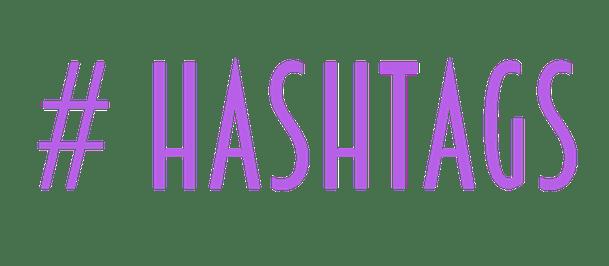 # hashtags