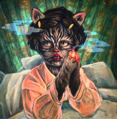 Lori Nelson Kitten You're on Fire