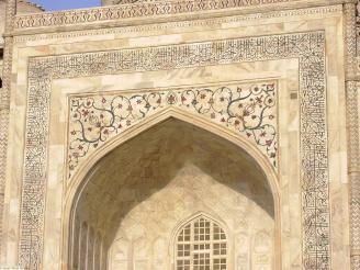 Fine detail, Taj Mahal