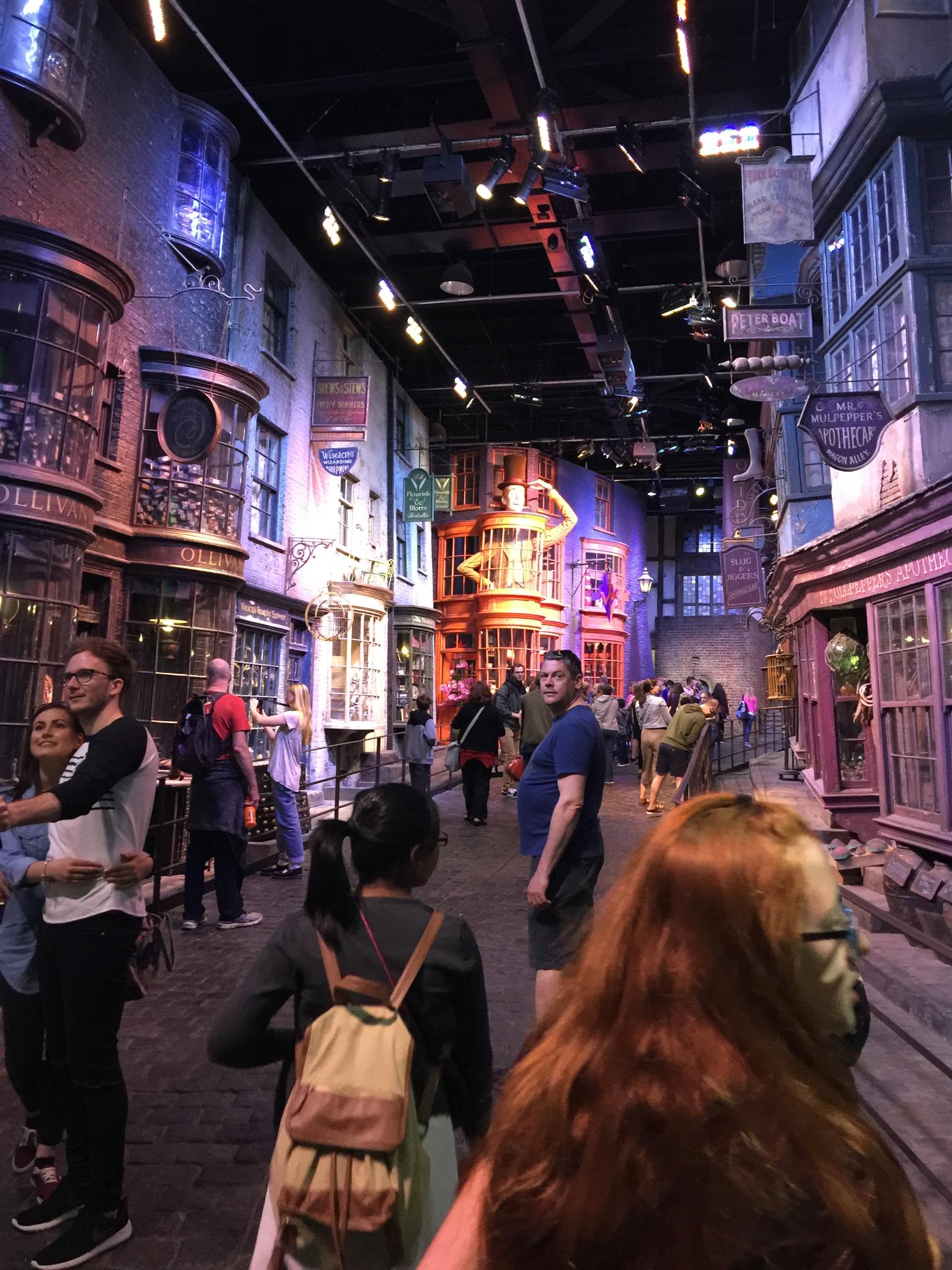 Visiting Harry Potter Warner Bros Studio Tour, London