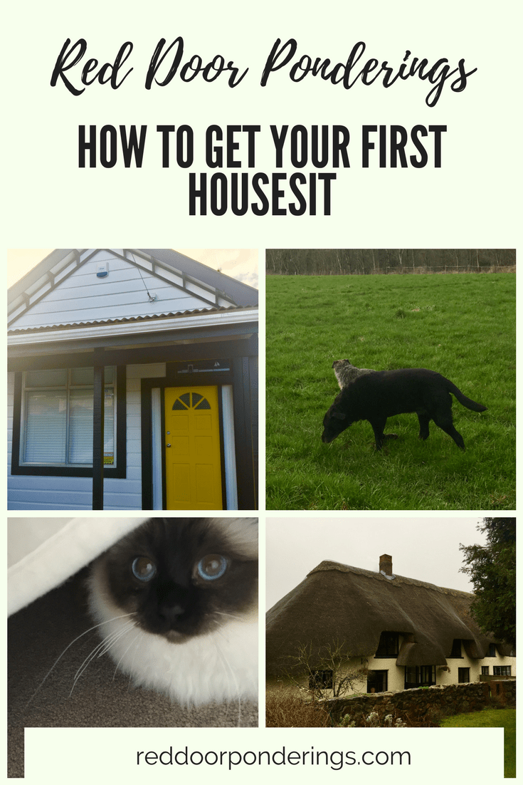 how to get your first house sit
