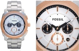 Fossil Men's FS4714 Machine Stainless Steel Watch
