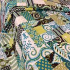 Kim has made up two fabulous quilts in these fabrics