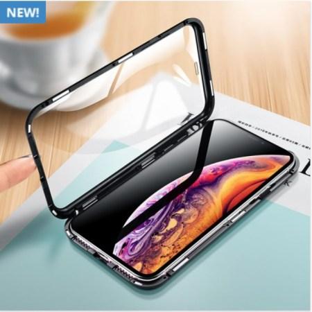 Iphone 360 Sølv Magnetisk Cover