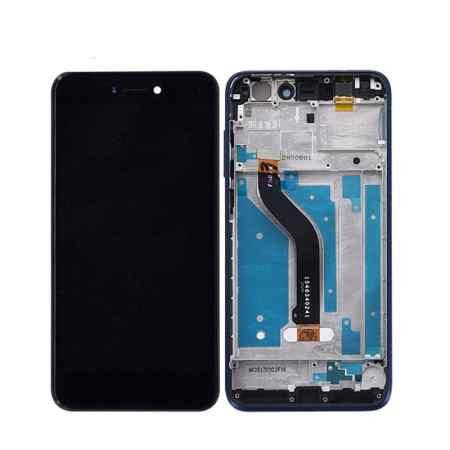 Huawei P8 Lite 2017 Skærm Med Ramme Oem Kvalitet