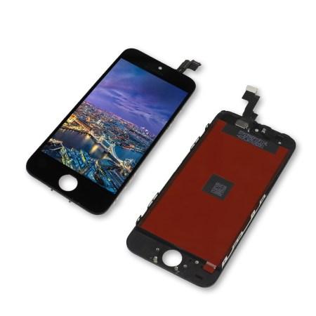 Iphone 5c Sort LCD Display Touch Skærm (Premium kvalitet)