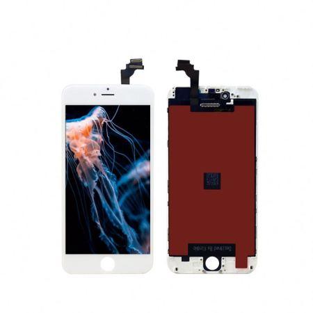 Iphone 6 Plus Hvid Orginal LCD Display Touch Skærm (Oem)