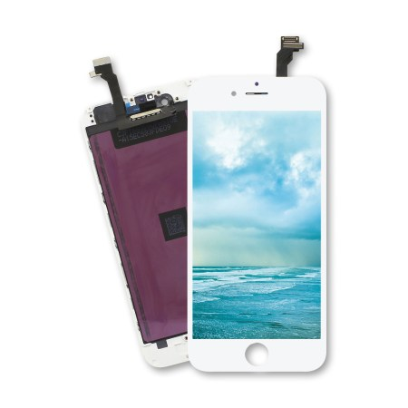 Iphone 6 Hvid LCD Display Touch Skærm (Premium kvalitet)