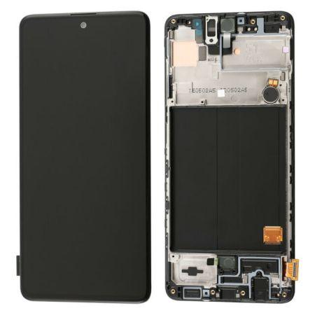 Samsung A51 Lcd Skærm (Orginal Service Pack)