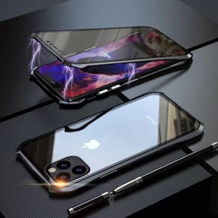 iPhone 7 Plus -8 Plus 360⁰ Magnetisk Cover Forside og Bagside Glass