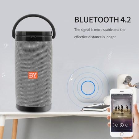 NBY6650 Portable 3D Bluetooth Højttaler Med trådløs oplader