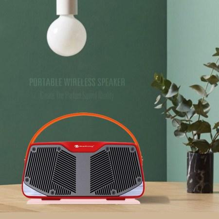 NR4021 Portable TWS Bluetooth Højttaler -Sort