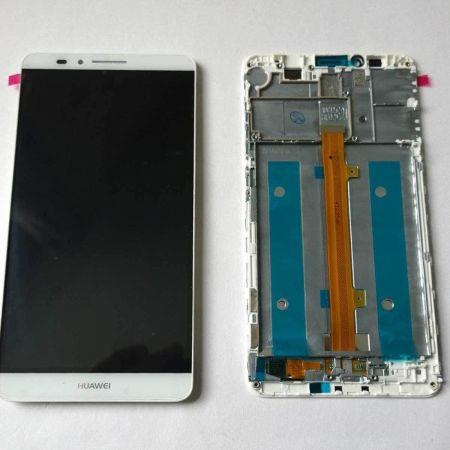 Huawei Mate 7 Skærm Med Ramme Oem Kvalitet