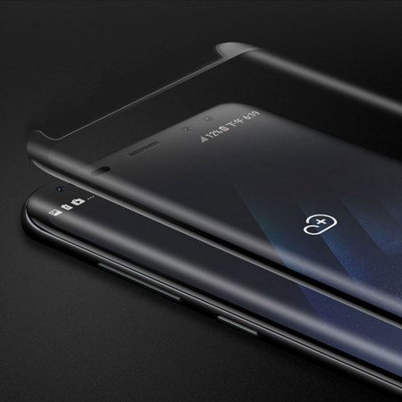 Samsung Note 8 Full Skærmbeskyttelse  - Sort