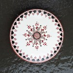 6 in. Round Ukrainian Tile Trivet - $ 25.