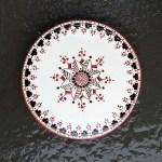 6 in. Round Ukrainian Tile Trivet - $ 25.