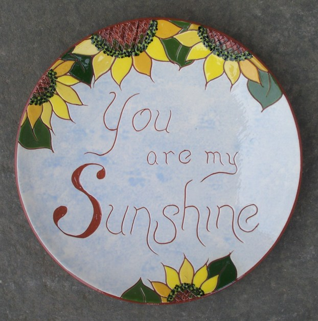8 in. 'Sunshine' Plate - $39.
